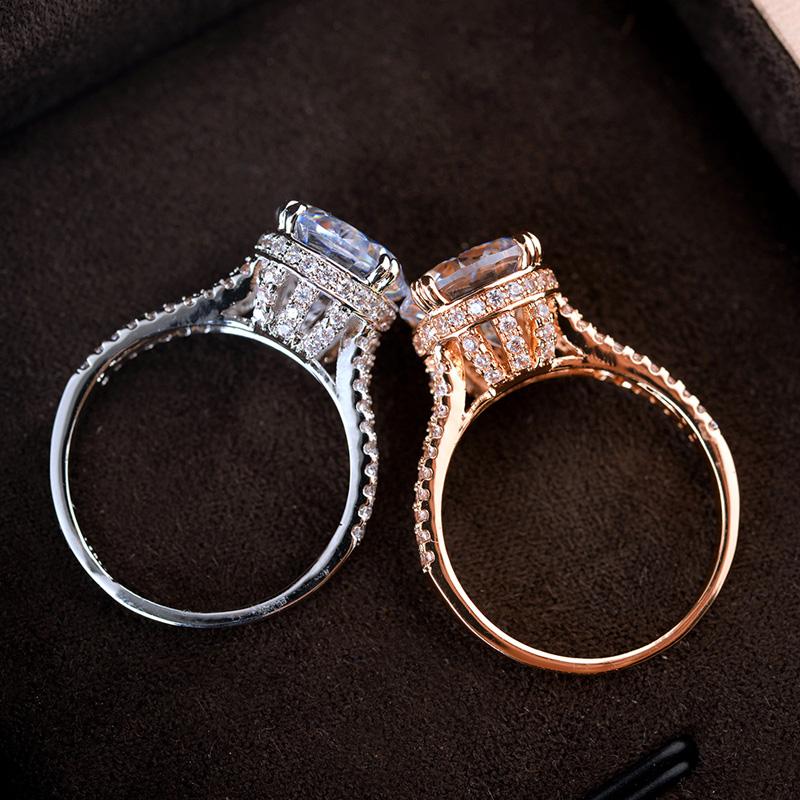fashion zircon ring 97619
