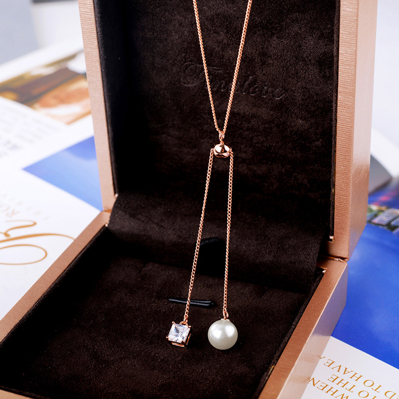 fashion pearl necklace 62121