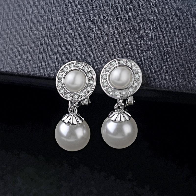 Clip on earrings 122931