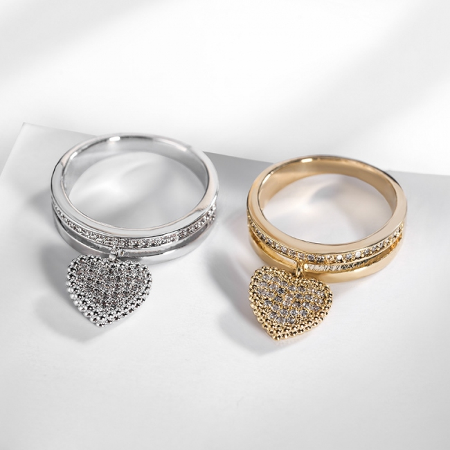 fashion zircon jewelry ring 810307