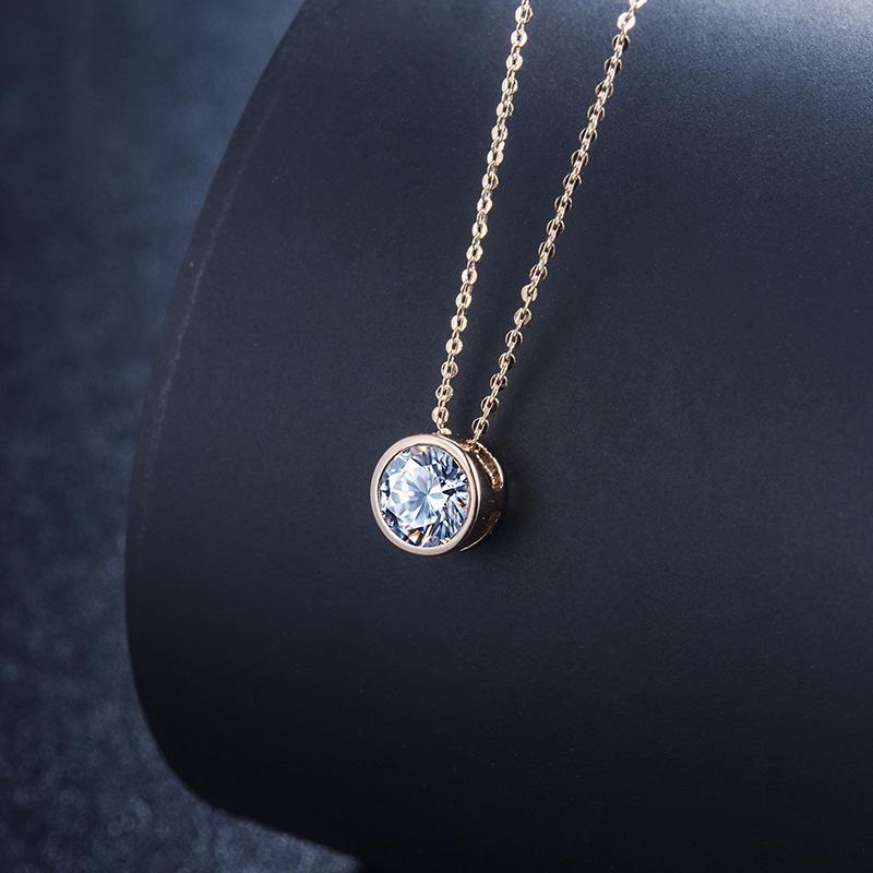 fashion zircon jewelry necklace 77174