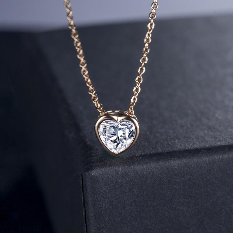 fashion zircon jewelry necklace 77175