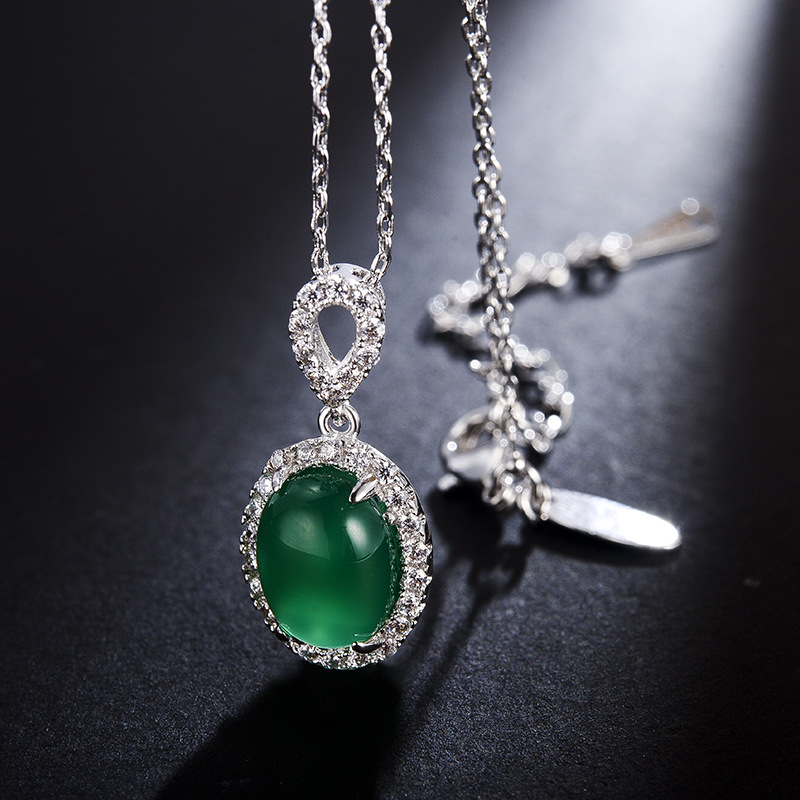 fashion opal jewelry necklace 77560