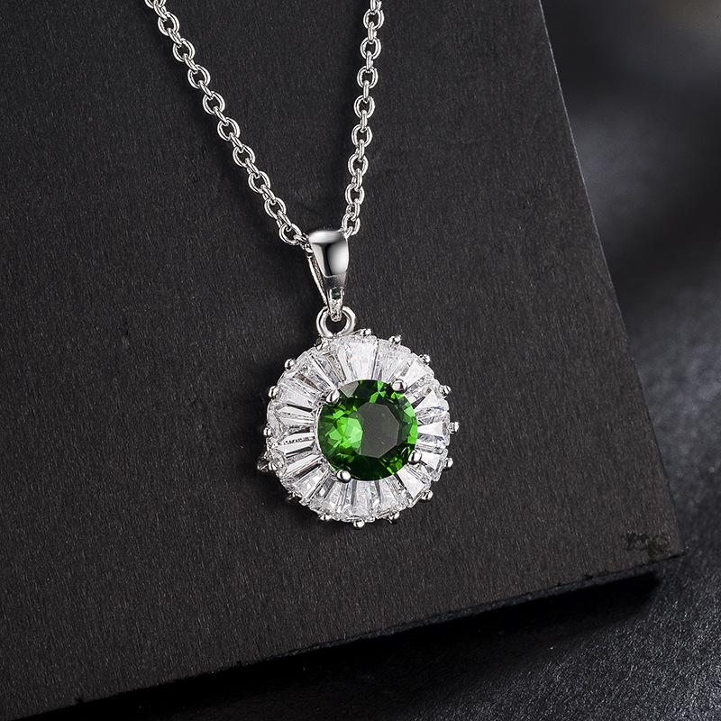 fashion opal jewelry necklace 873001