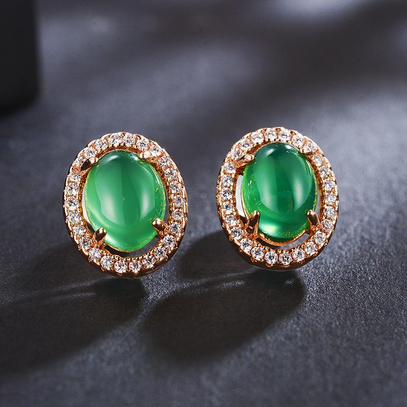 fashion opal jewelry earring 87918