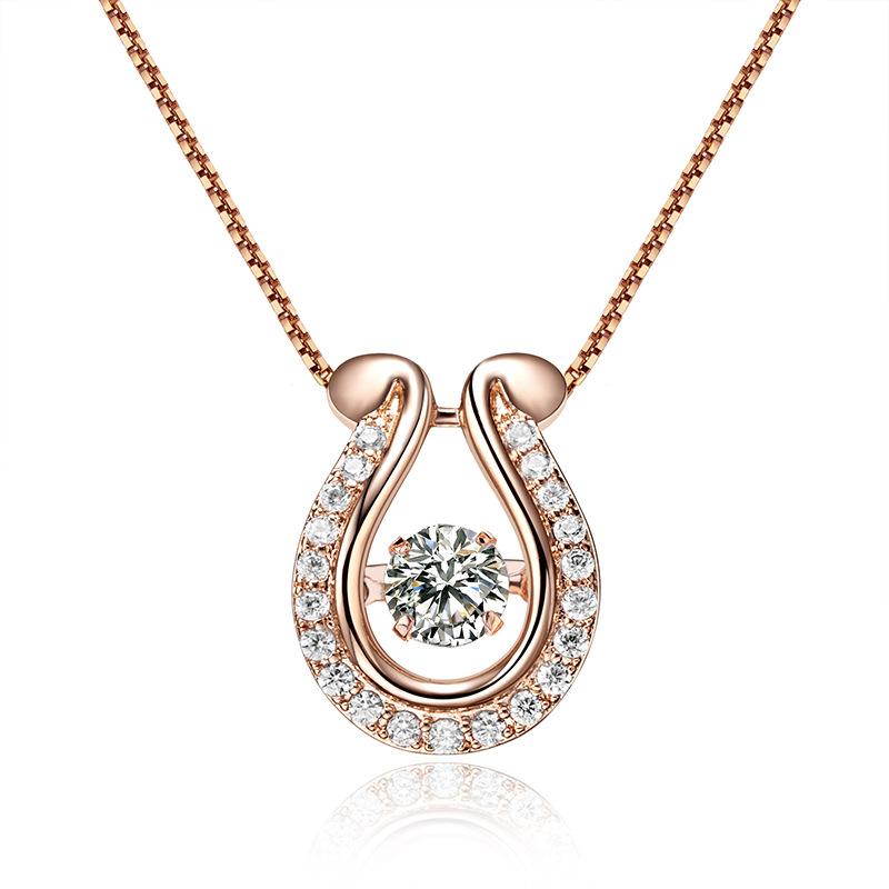 fashion zircon jewelry necklace 62125