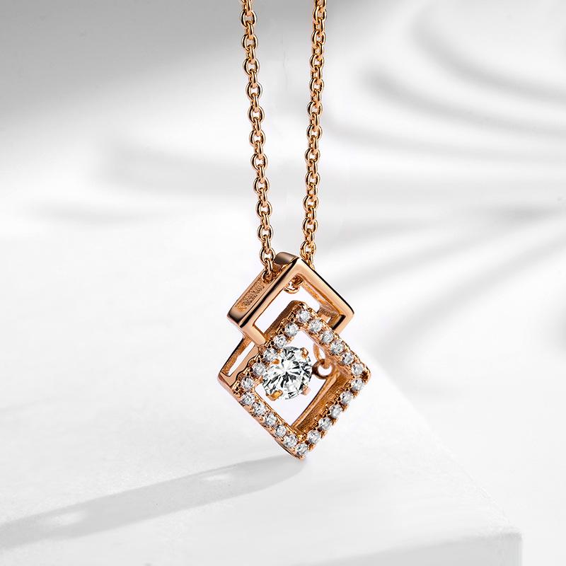 fashion zircon jewelry necklace 77600