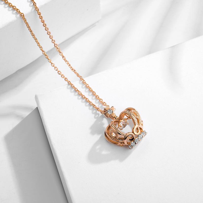 fashion zircon jewelry necklace 77597