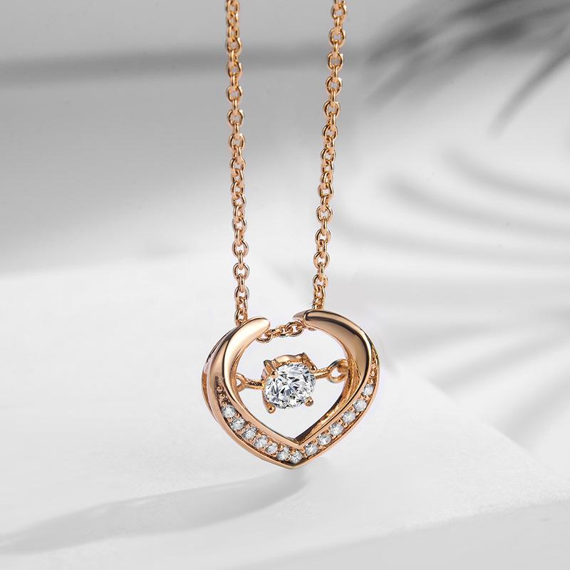 fashion zircon jewelry necklace 77601