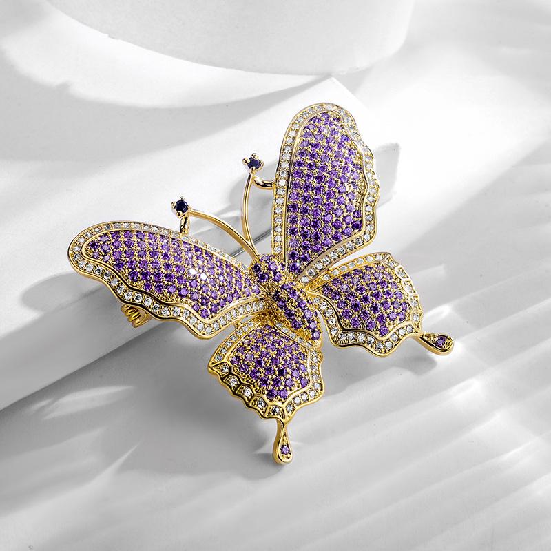 fashion jewelry brooch 850447