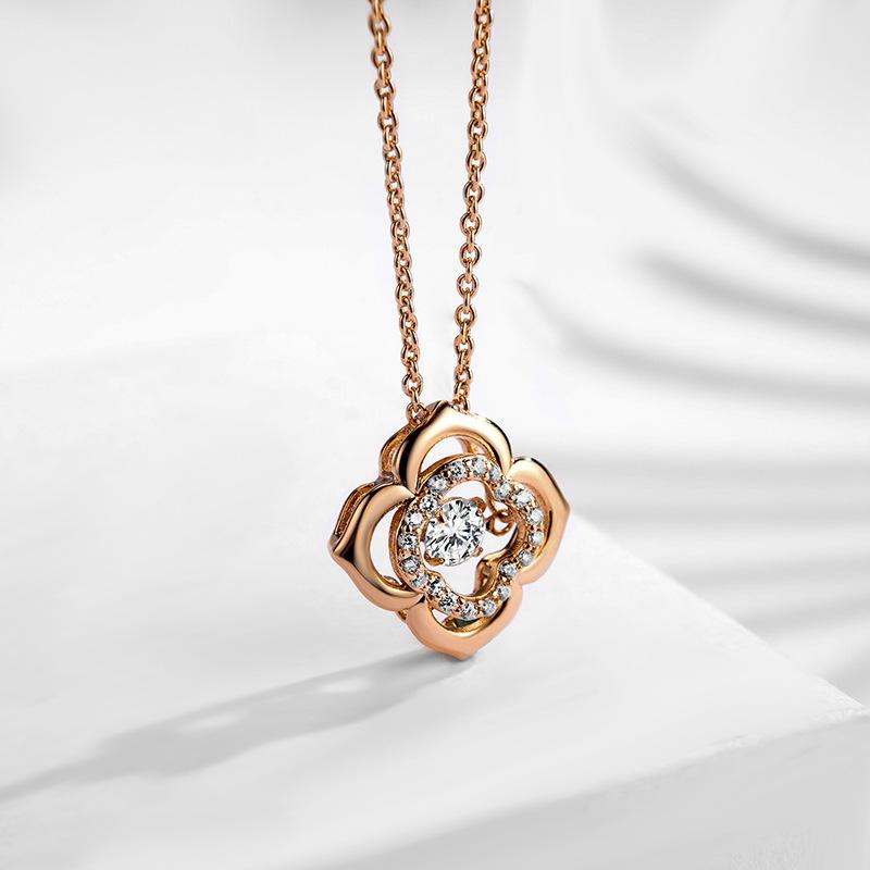 fashion zircon jewelry necklace 77598