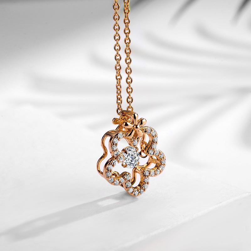 fashion zircon jewelry necklace 77599