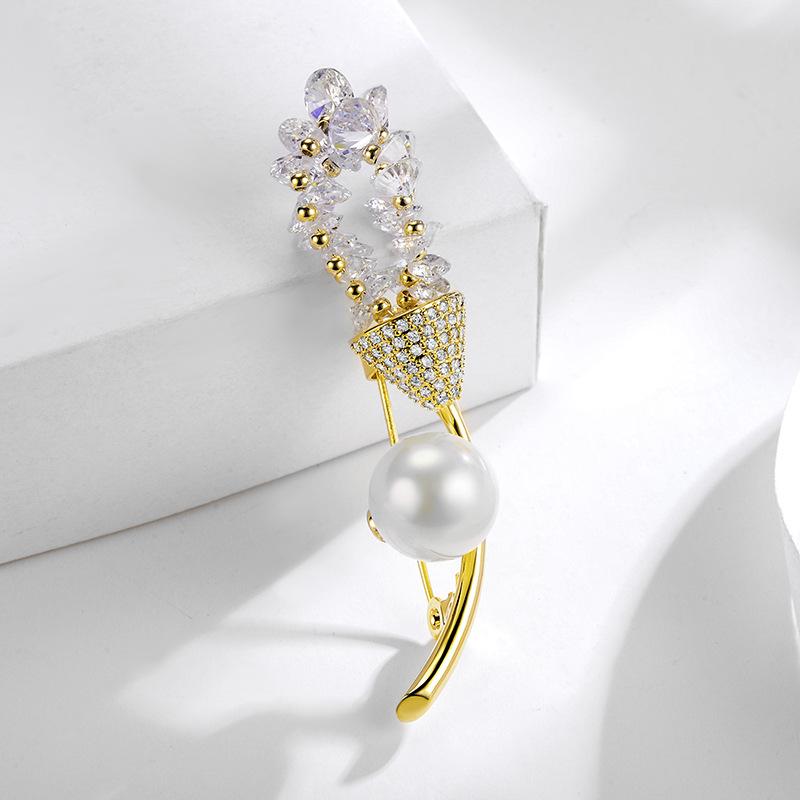 fashion jewelry brooch 850489