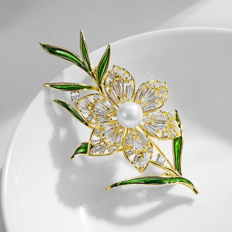 fashion jewelry brooch 850413