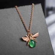 fashion opal jewelry necklace 77586