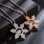fashion zircon jewelry necklace77592