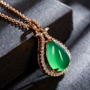 fashion opal jewelry necklace 77590