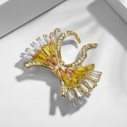 fashion jewelry brooch 850394